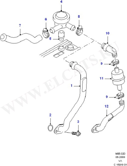 Crankcase Ventilation (Engine Air Intake/Emission Control)