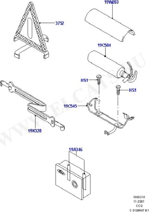 Emergency and Safety Equipment (Инструменты  и аварийное оборудование)