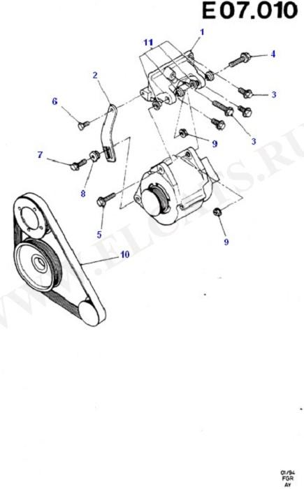 Alternator/Starter Motor & Ignition (Zetec E)