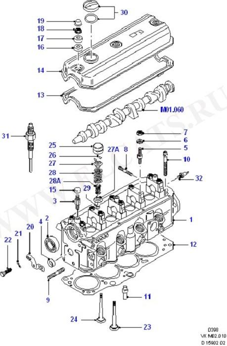 Cylinder Head (Cylinder Head/Valves/Manifolds/EGR)