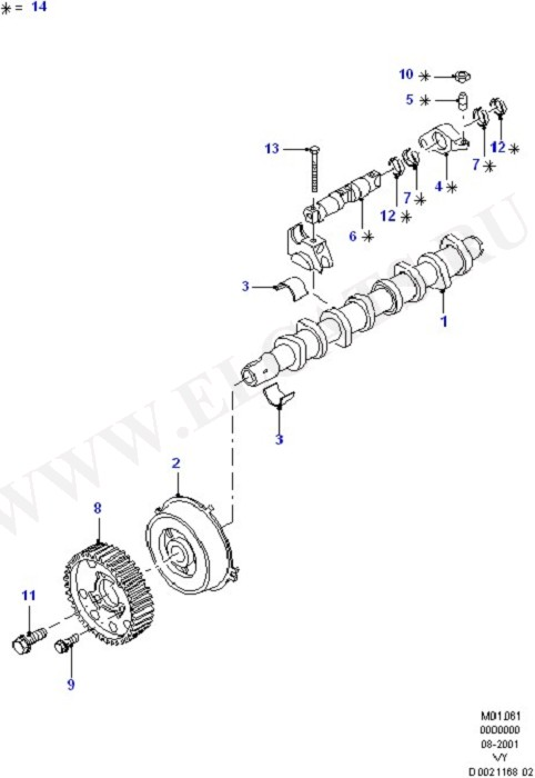Camshaft & Valve Actuation System (Engine/Block And Internals)