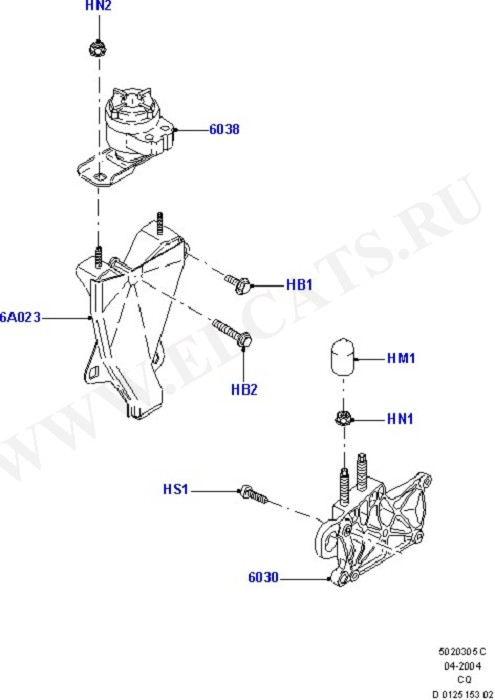 Engine Mounting (Engine & Transmission Mountings)