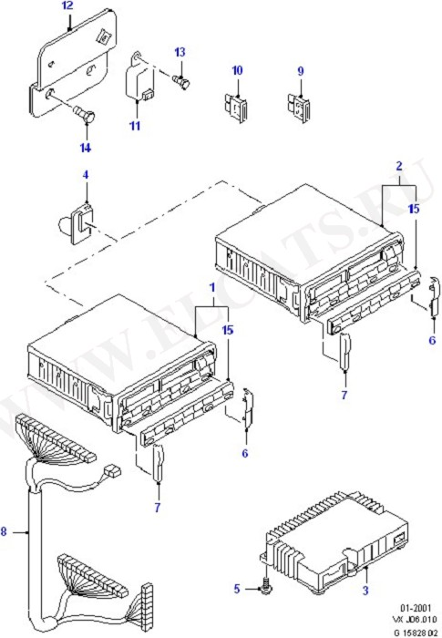 Audio Equipment - Original Fit (Audio System & Related Parts)