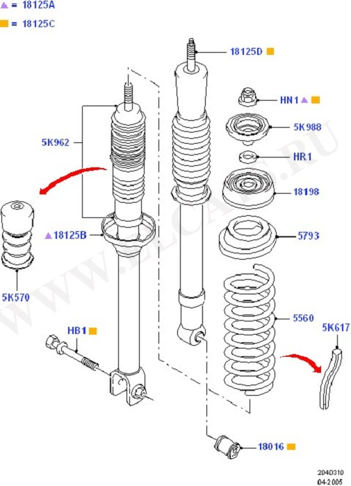 Rear Springs And Shock Absorbers (Springs/Struts & Shock Absorbers)