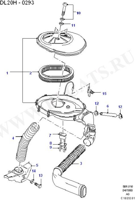 Engine Air Intake/Emission Control (DOHC(DL/DH))