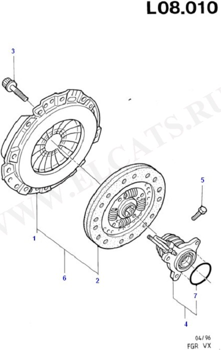 Clutch (Clutch And Flywheel)