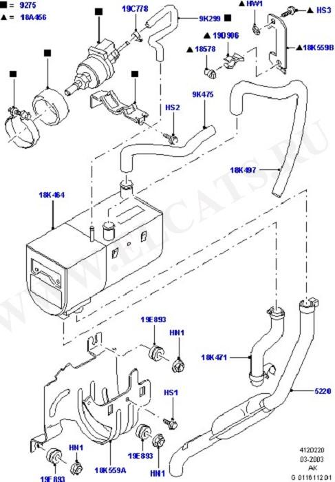 Auxiliary Fuel Fired Pre-Heater (Система обогрева и кондиционер)