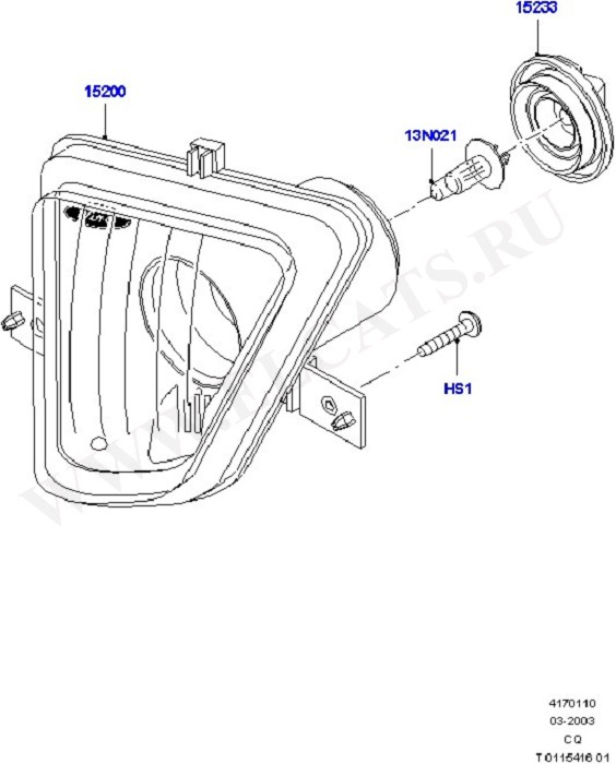Front Fog Lamps (Front & Interior Lamps)