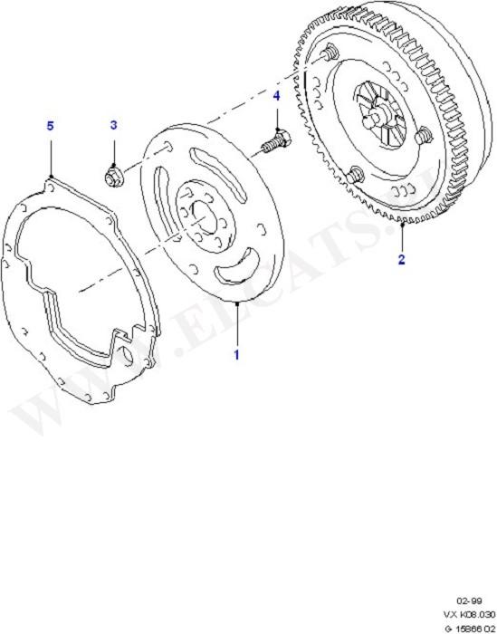 Converter/Intermediate & Drive Plte (Clutch, Clutch Housing & Flywheel)