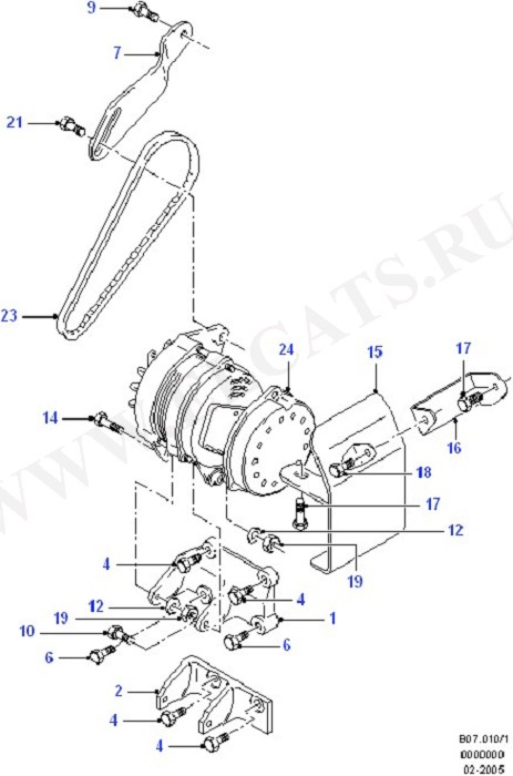 Alternator/Starter Motor & Ignition (CVH)