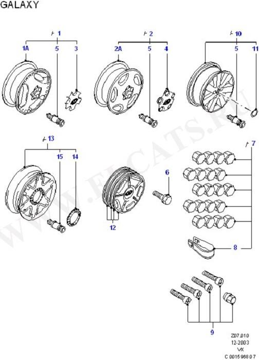 'RS' Wheels (Аксессуары)