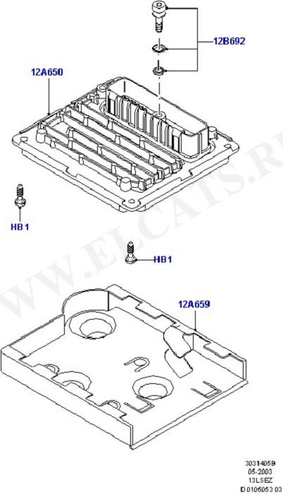 Engine Modules And Sensors (Силовой агрегат)