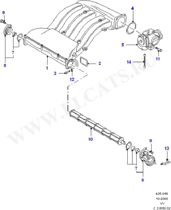 Air Intake System (Fuel System - Engine)