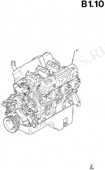 Engine/Block And Internals (Taunus V6 2.4, 2.9)