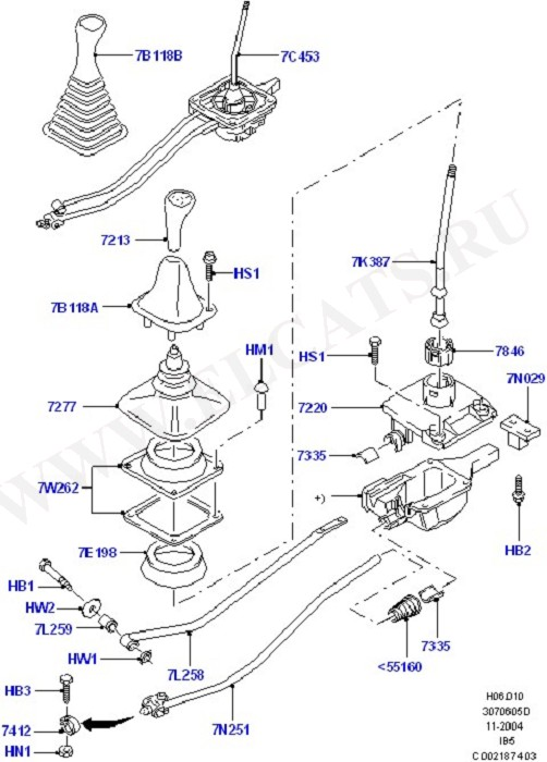 Gear Change Manual (Силовой агрегат)