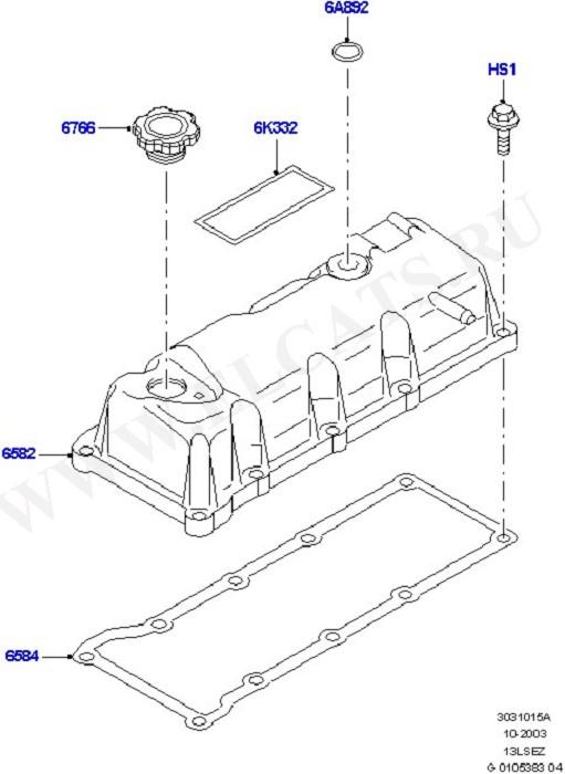 Engine Covers & Gaskets (Силовой агрегат)