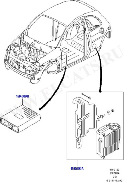Anti-Theft Alarm Systems (Vehicle Modules Switches And Relays)