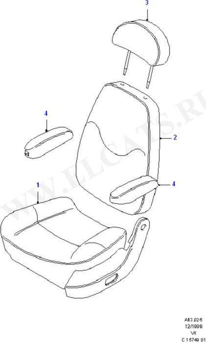 Covers - Rear Seats (Seats And Covers)