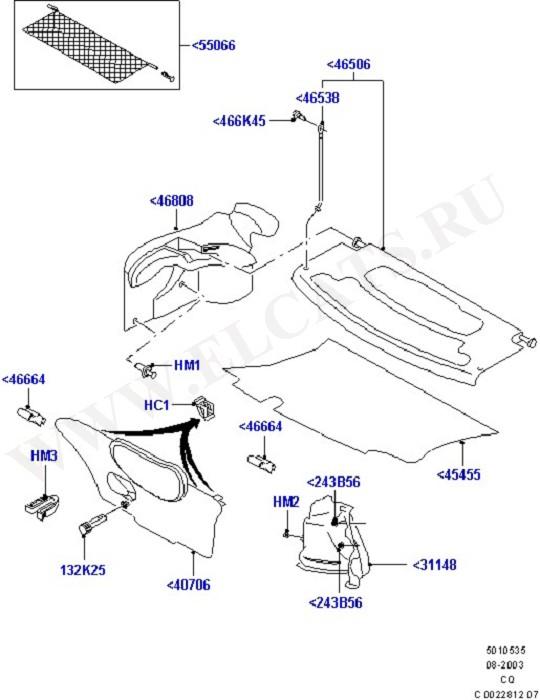 Load Compartment Trim (Interior Trim And Installation)