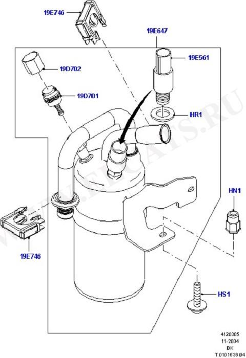 Air Conditioning Accumulator Front (A/C Accumulator, Condensr/Compressr)