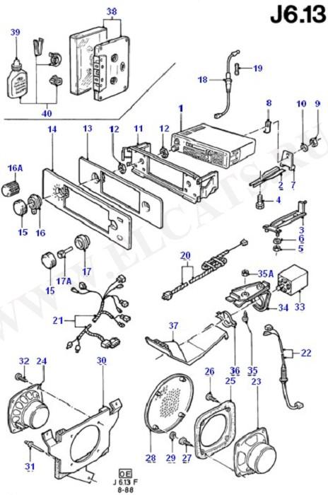 Audio Equipment - Original Fit (Audio System & Related Parts)