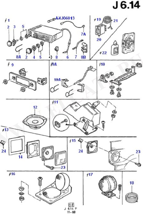 Audio Equipment - Accessory (Audio System & Related Parts)