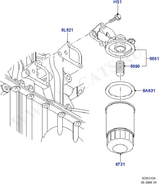 Engine Lubrication (Силовой агрегат)