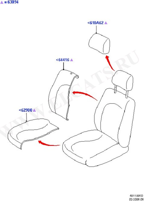 Front Seat Covers (Seats And Related Parts)