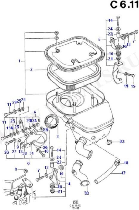 Engine Air Intake (GD/PD)