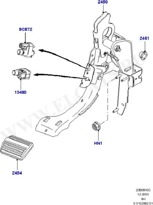 Brake And Clutch Controls (Тормоза - Гидравлическая система)