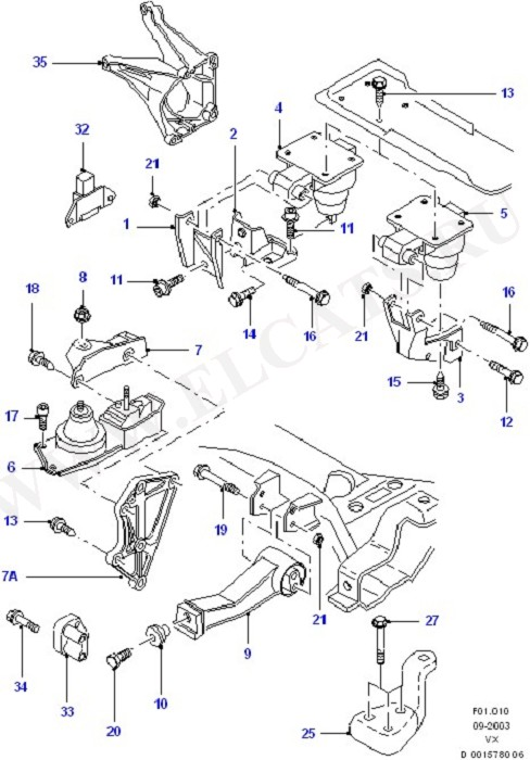 Engine And Transmission Suspension (Engine And Transmission Suspension)