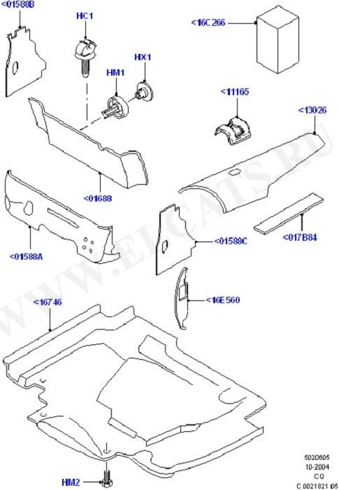 Insulators - Front (Insulators & Shields)