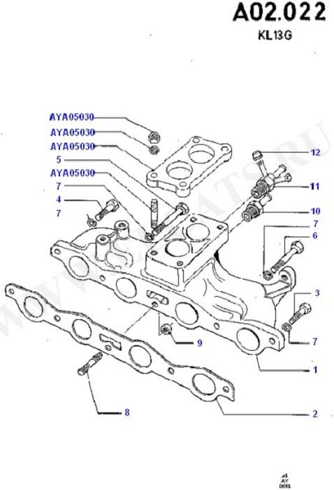 Cylinder Head/Valves/Manifolds/EGR (OHV/HCS)