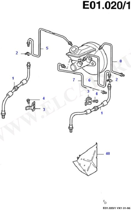Brake Pipes (Brake Pipes/ABS/Brake System Valves)