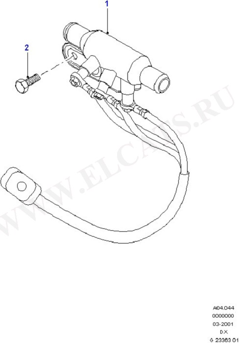 Auxiliary Electric Pre-Heater (Dash Panel/Apron/Heater/Windscreen)