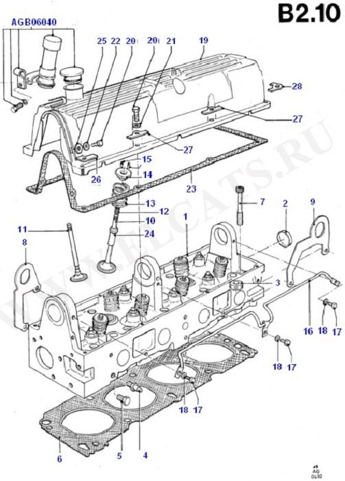 Cylinder Head/Valves/Manifolds/EGR (OHC(TL/LL))