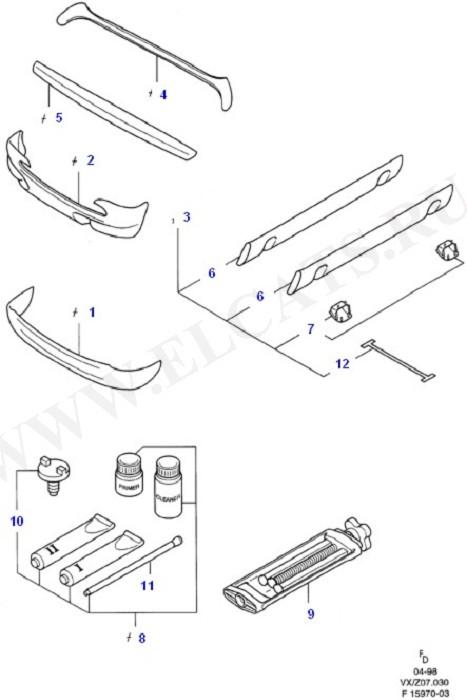 'RS' Body Conversion Kits (Аксессуары)
