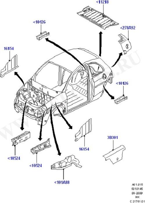 Repair Panels (Body Less Front End & Closures)