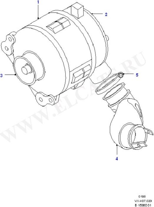 Alternator (Alternator/Starter Motor & Ignition)