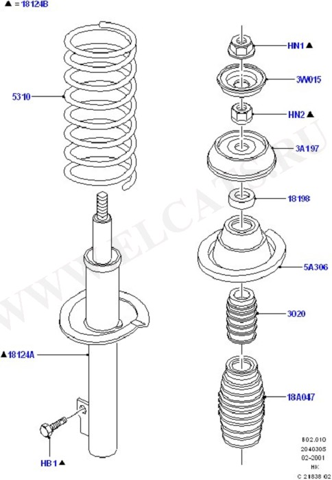 Front Suspension Struts And Springs (Springs/Struts & Shock Absorbers)