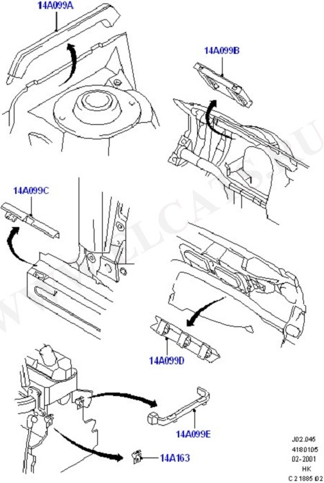 Wiring Covers (Wiring System & Related Parts)