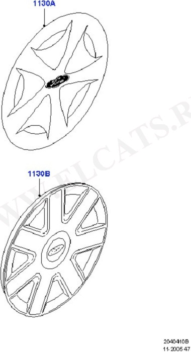 Wheel Ornamentation (Колеса / Отделка и крепление)