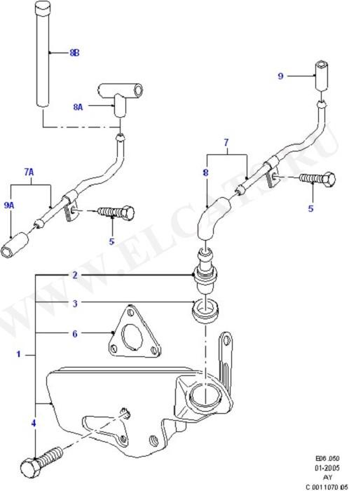 Engine Air Intake/Emission Control (Zetec E)