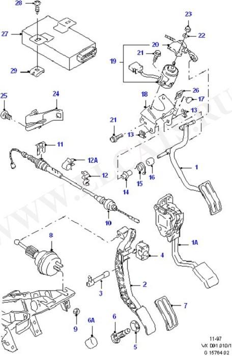 Accelerator/Injection Pump Controls (Accelerator/Injection Pump Controls)