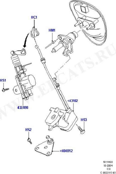 Luggage Compt/Tailgte Lock Controls (Door Lock Mechanisms)
