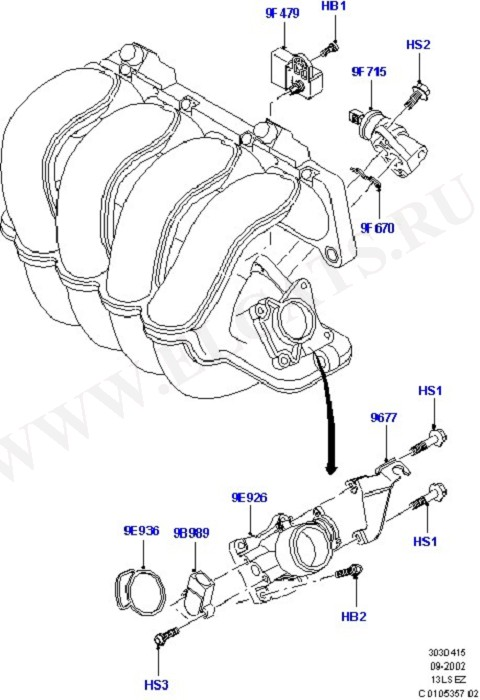 Fuel System - Engine (Силовой агрегат)
