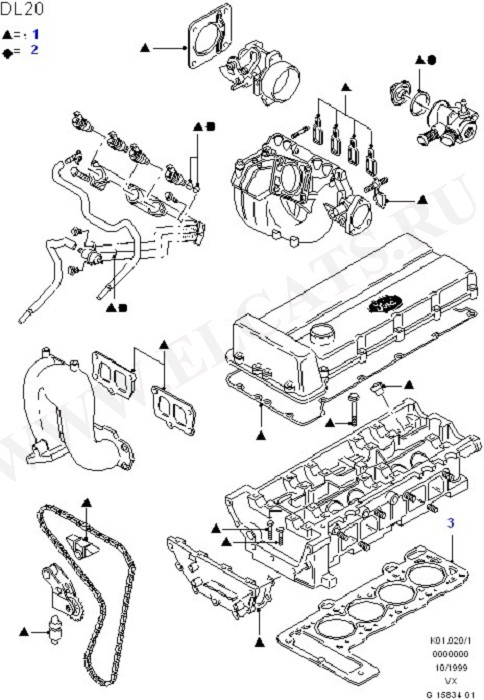 Engine Gasket Kits (Engine/Block And Internals)