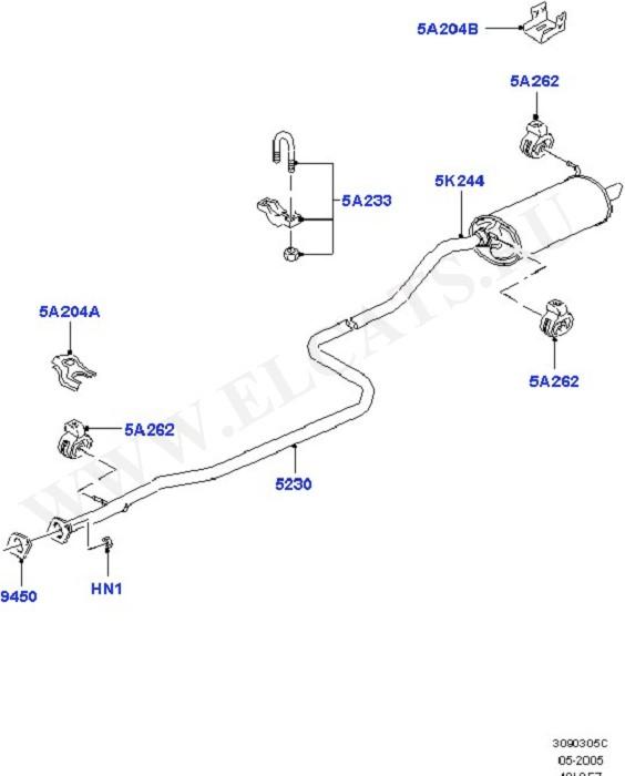 Exhaust Systems (Силовой агрегат)