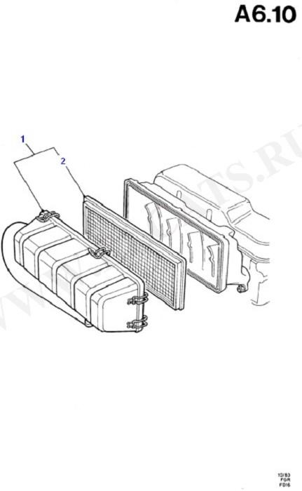 Engine Air Intake (Diesel 1.6)