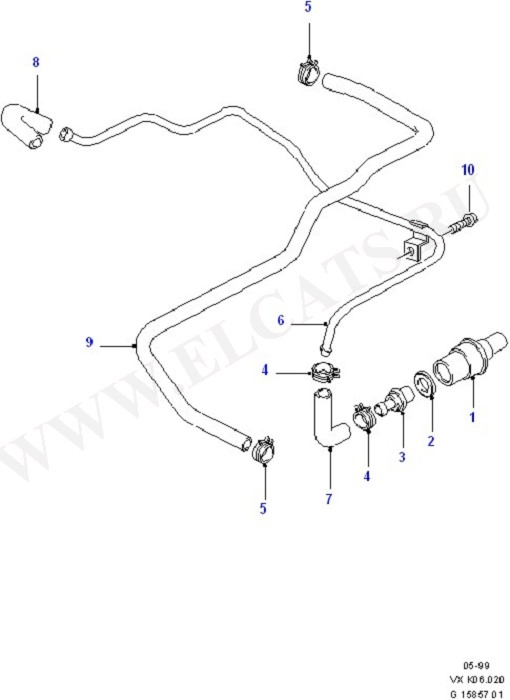Emission Control - Crankcase (Engine Air Intake/Emission Control)